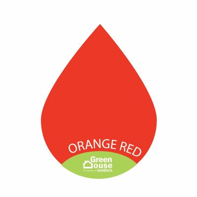 Colour Drops-Orange Red
