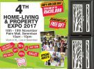 16th-19th November 2017 Visit Our Booth At Home-Living & Property Expo Palm Mall, Seremban