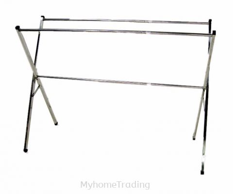 MX108-1 FOLDABLE FLOOR DRYING RACK