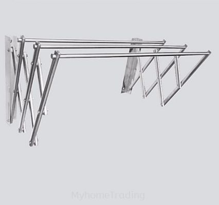 MHT-RRWM 5FEET RETRACTABLE WALL SERIES CLOTH HANGER