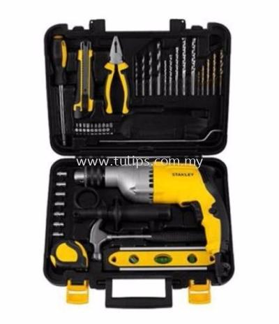 STDH7213V Stanley 13mm 720W Percussion Drill Value Kit