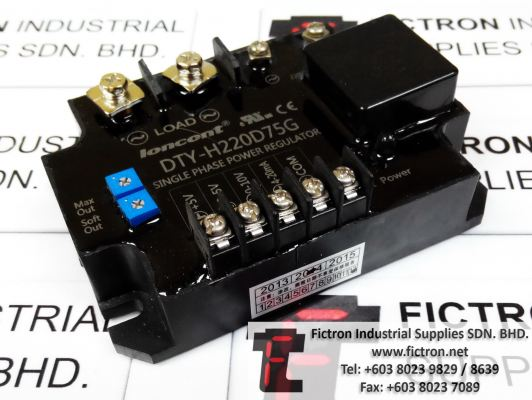 DTY-H220D75G DTYH220D75G LONCONT SINGLE PHASE POWER REGULATOR REPAIR IN MALAYSIA 12 MONTHS WARRANTY