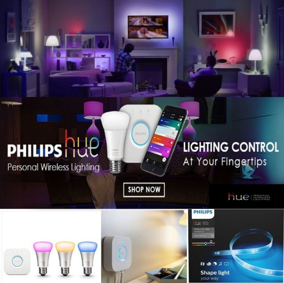PHILIPS HUE LIGHTING ON SALE
