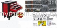 Service Tool Cabinet With 177pcs Tools YT-5530 Automotive Tool / Equipment Construction & Engineering Equipment
