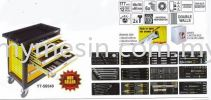 Service Tool Cabinet With 177pcs Tools YT-58540 Automotive Tool / Equipment Construction & Engineering Equipment