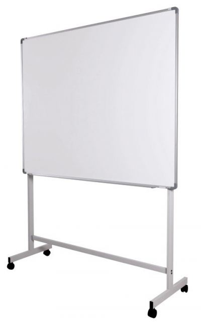 Single Sided White Writing Board With Stand
