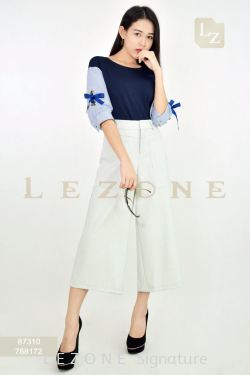 768172 PLUS SIZE MAXI CULOTTES【Online Exclusive Promo 41% OFF】