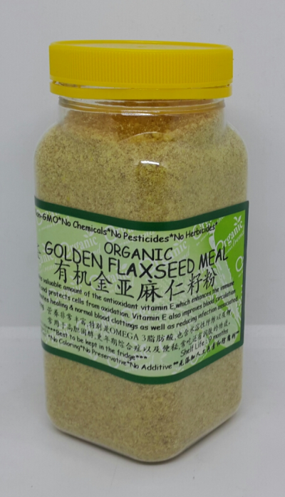 GOLDEN FLAXSEED MEAL-ORGANIC*�л��ƽ������ѷ�