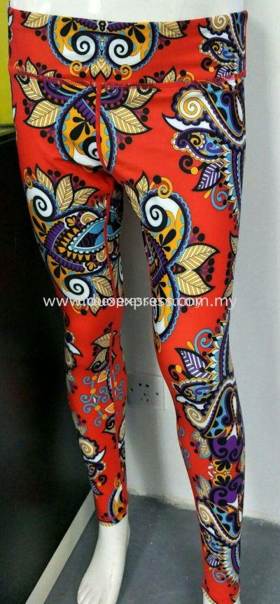 Sublimation Sports Pants