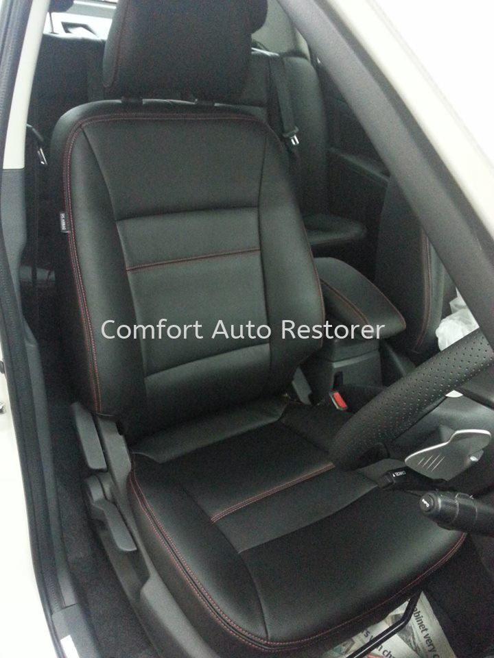 Leather Seat Upholstery Embroidery Auto Leather Trim