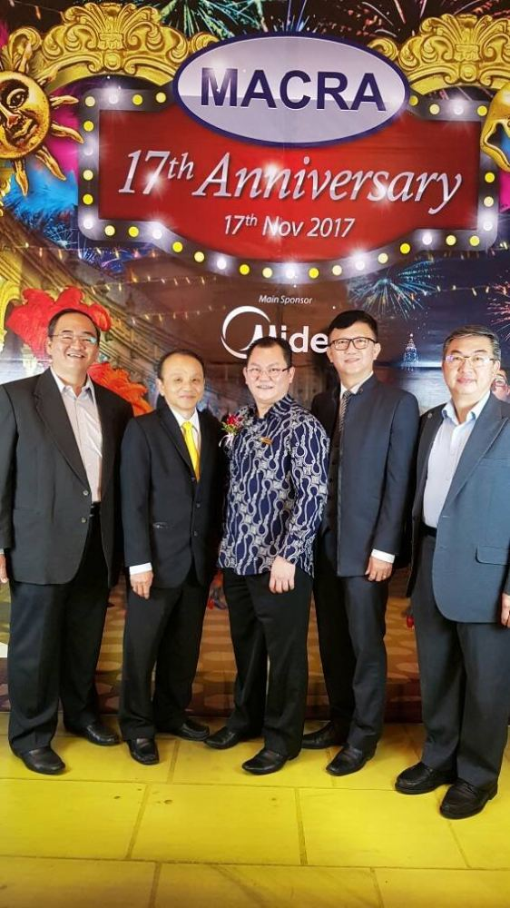 MACRA (MALAYSIAN AIR-CONDITIONING & REFRIGERATION ASSOCIATION) 17th Anniversary Dinner On 17-11-2017