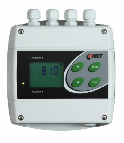 H5324 CO2 concentration transmitter with RS232 and two relay outputs