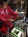Charging gas and commisioning process (KM Perwira) Ship Repair