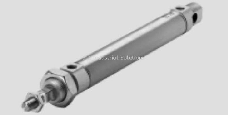 DSNU-Q Round Cylinder (With Protection Against Rotation)