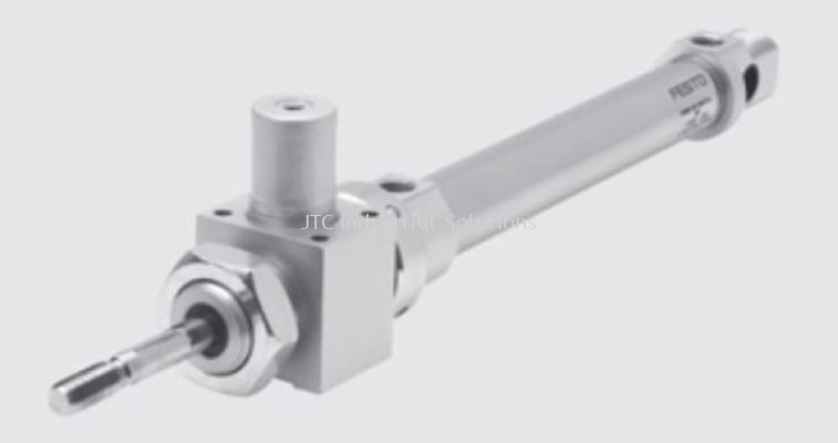 DSNU-KP Round Cylinder (With Clamping Unit)