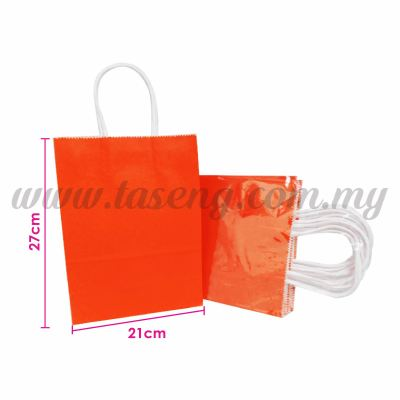 Paper Bag - Red *10pcs (RPB-P2L-R)