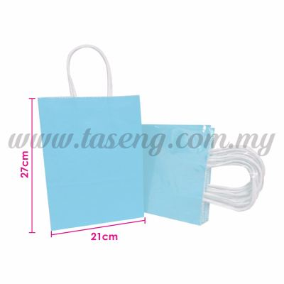 Paper Bag - Baby Blue *10pcs (RPB-P2L-BB)
