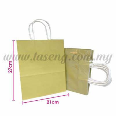 Paper Bag - Matt Gold *10pcs (RPB-P2L-MTG)