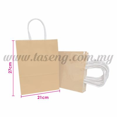 Paper Bag - Brown *10pcs (RPB-P2L-BR)