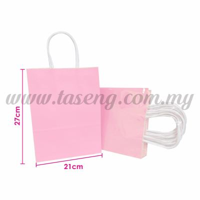 Paper Bag - Baby Pink *10pcs (RPB-P2L-BP)