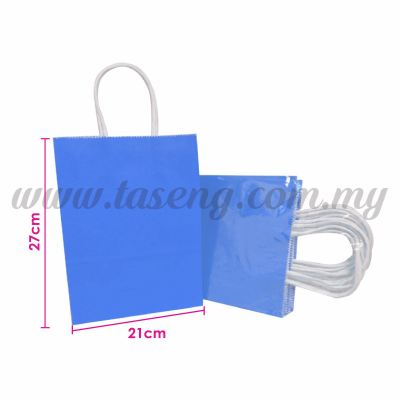 Paper Bag - Blue *10pcs (RPB-P2L-B)