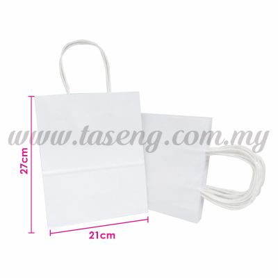 Paper Bag - White *10pcs (RPB-P2L-W)