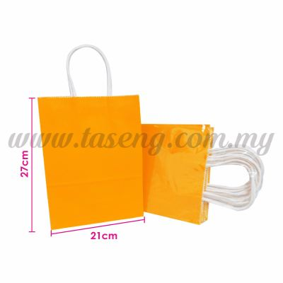 Paper Bag - Orange *10pcs (RPB-P2L-OR)