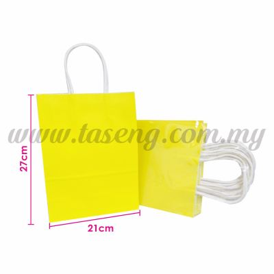 Paper Bag - Yellow *10pcs (RPB-P2L-Y)