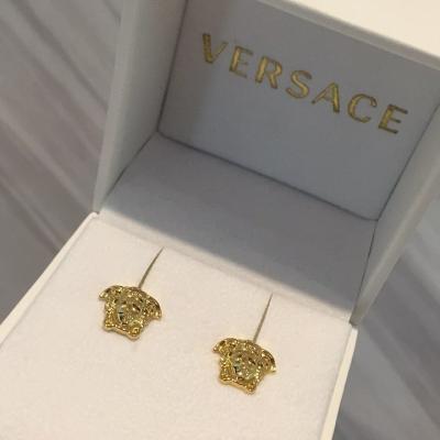 (SOLD) Versace Medusa Earring