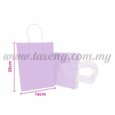 Paper Bag Small - Lilac *10pcs (RPB-P2S-LI)