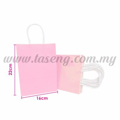 Paper Bag Small - Baby Pink *10pcs (RPB-P2S-BP)