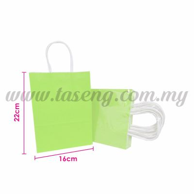 Paper Bag Small - Lime Green *10pcs (RPB-P2S-LG)