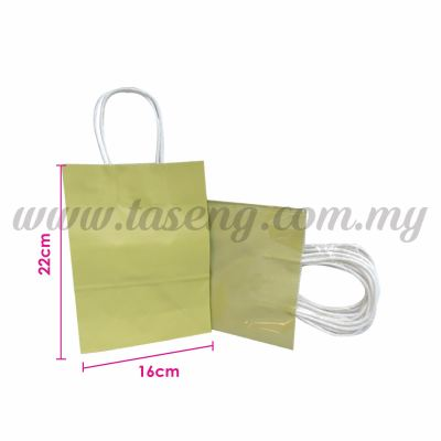 Paper Bag Small - Matt Gold *10pcs (RPB-P2S-MTG)