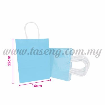 Paper Bag Small - Baby Blue *10pcs (RPB-P2S-BB)
