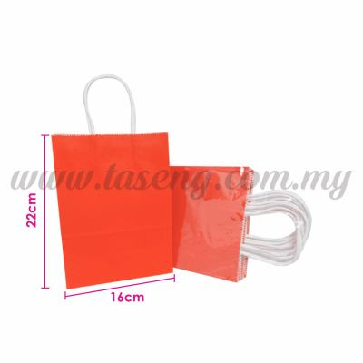 Paper Bag Small - Red *10pcs (RPB-P2S-R)