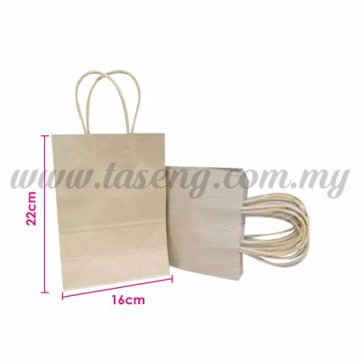 Paper Bag Small - Eco Paper *10pcs (RPB-P2S-EP)