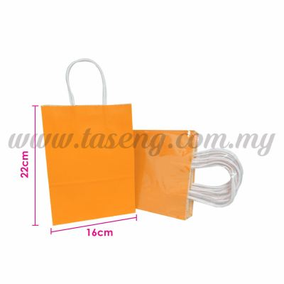 Paper Bag Small - Orange *10pcs (RPB-P2S-OR)