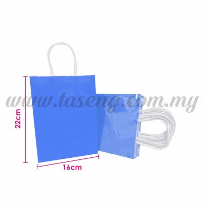 Paper Bag Small - Blue *10pcs (RPB-P2S-B)