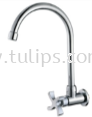 11-418 Wall Sink Tap (Wind Mill Handle)