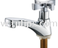11-433 Basin Bib Tap (Wind Mill Handle)