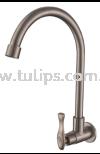 11-818 SUS 304 Wall Sink Tap Stainless Steel Tap Series 8 Dolfino Water Tap Plumbing