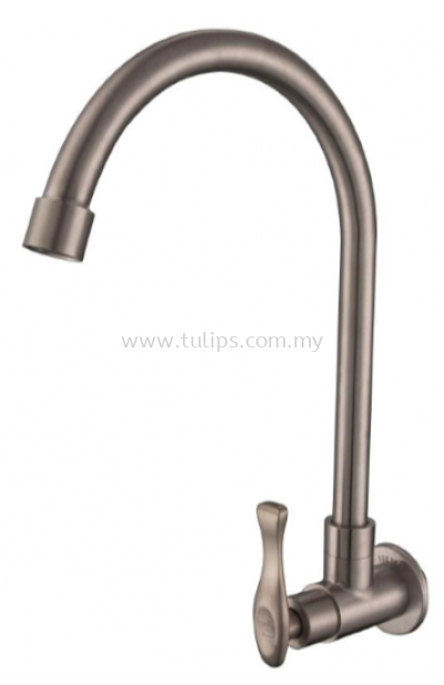 11-818 SUS 304 Wall Sink Tap