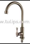 11-819 SUS 304 Pillar Sink Tap Stainless Steel Tap Series 8 Dolfino Water Tap Plumbing