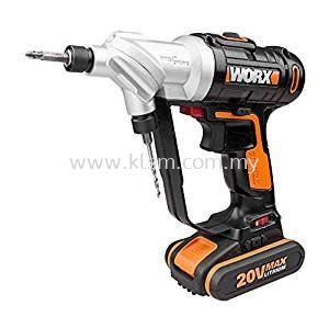 WORX WX176 20V MAX LITHIUM-ION SWITCHDRIVER