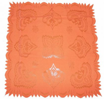 "Table Cloth ""24×24"" Orange"