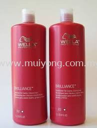 Wella Brillance Shampoo & Conditioner (1000ml)