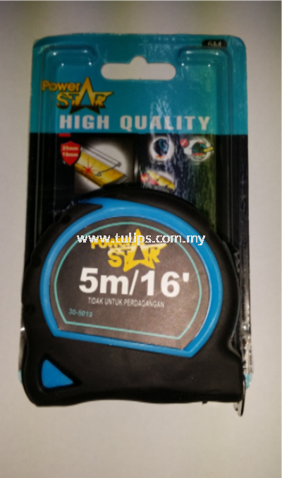 30-5019 Power Star 5M Measuring Tape