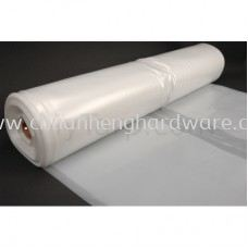 POLYETHYLENE MEMBRANE PLASTIC SHEET 0.25MM 2 PLY X 8' X 140' (~45KG