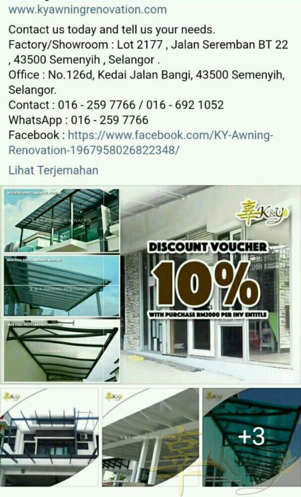 10%Discount for Mild Steel Pergola,Skylight,Awning