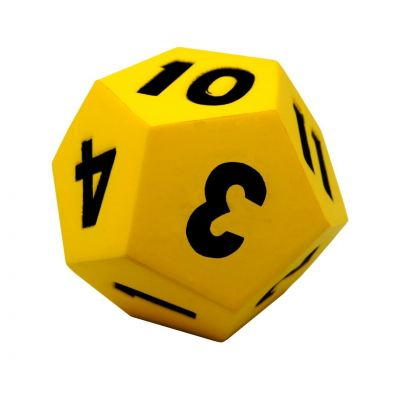 XYNS20A 12 Sided Dice (115mm)